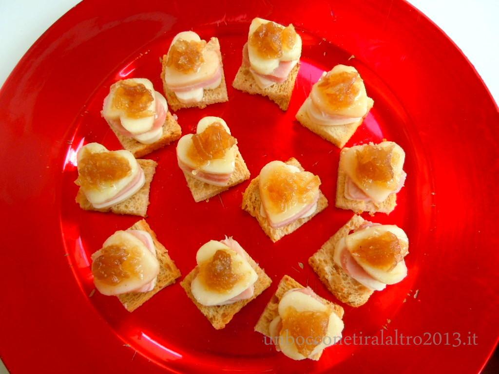 Crostini di San Valentino