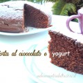 Torta al cioccolato e yogurt