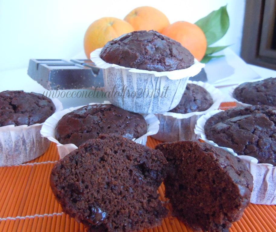 Muffin cioccolato montersino