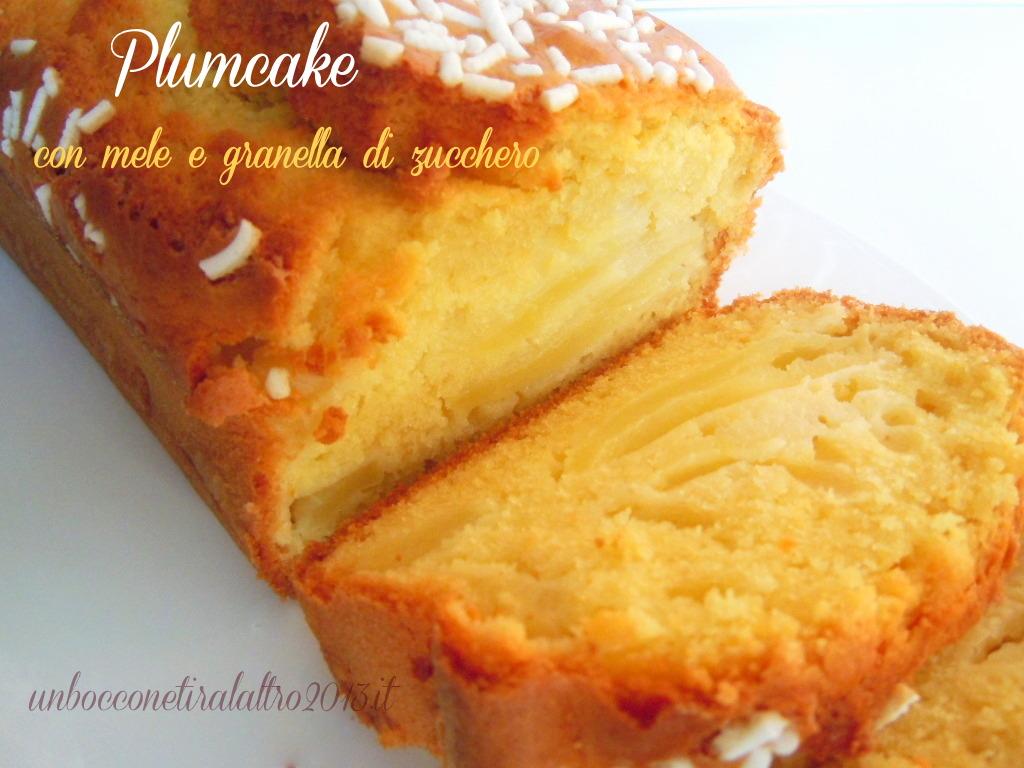 Plumcake mele