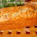 Plumcake salame e formaggio