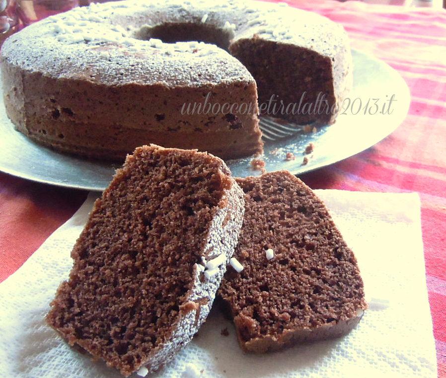Ciambellone Al Cioccolato Soffice E Leggero Ricetta Per La