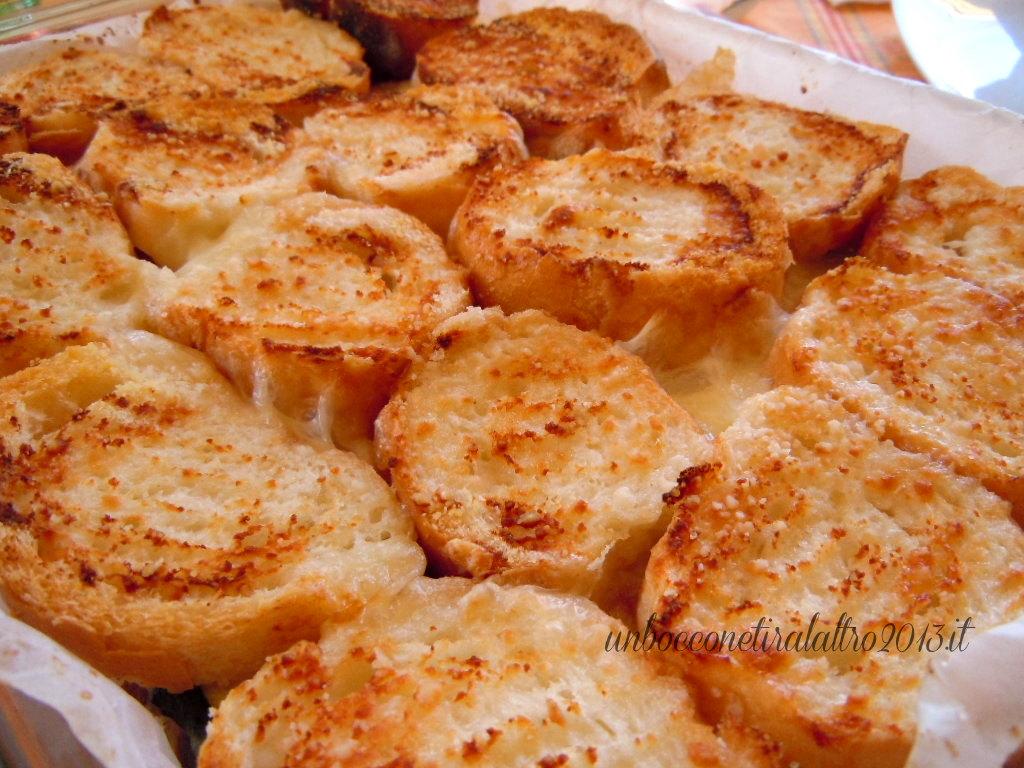 parmigiana di pane e zucchine