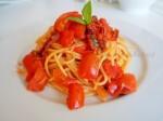 spaghetti ai tre pomodorini