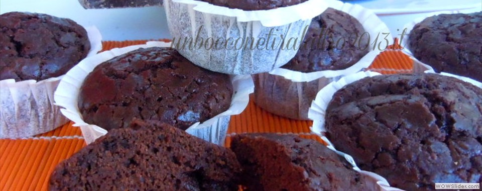 Muffin al cioccolato firmati Montersino